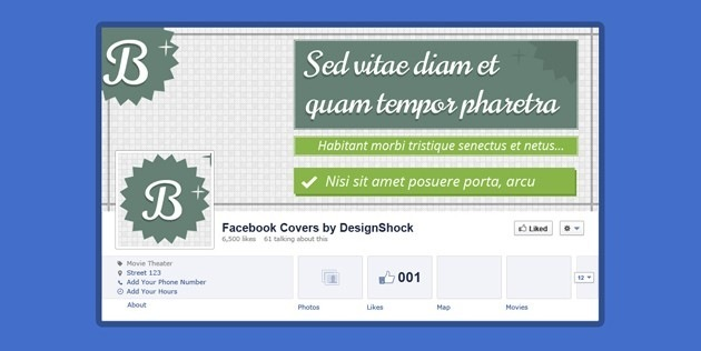 Cool Facebook Cover PSD