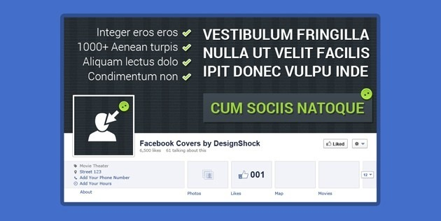 Cool Facebook Cover PSD Pack