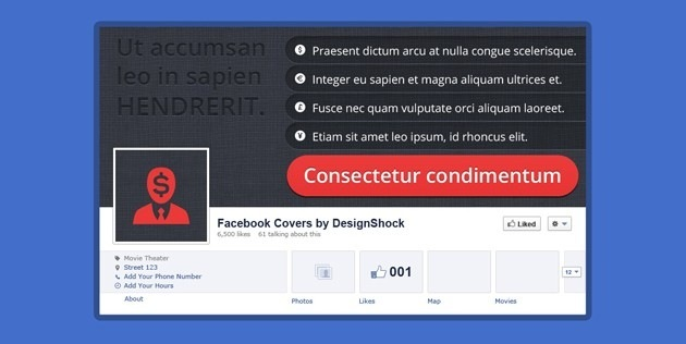 Facebook Cover creative template