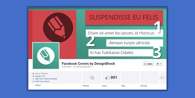 Facebook Cover company template