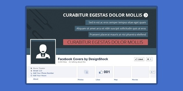 Nice fb Cover PSD pack