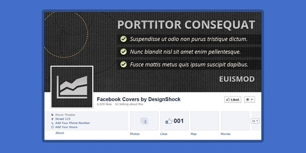 Cool fb Cover template