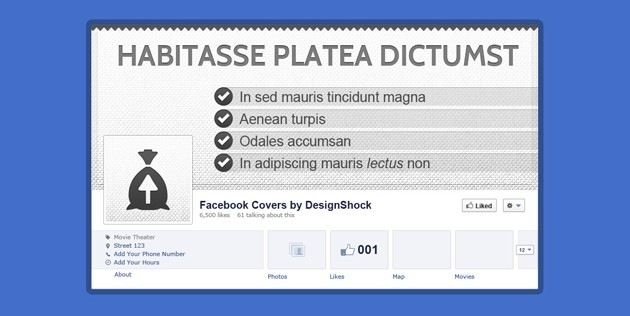 simple fb Cover template