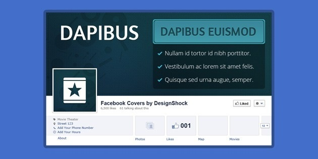 Photoshop fb Cover template