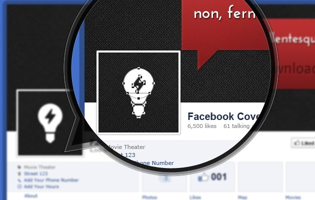 simple fb Cover PSD