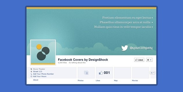 fb Covers PSD pack