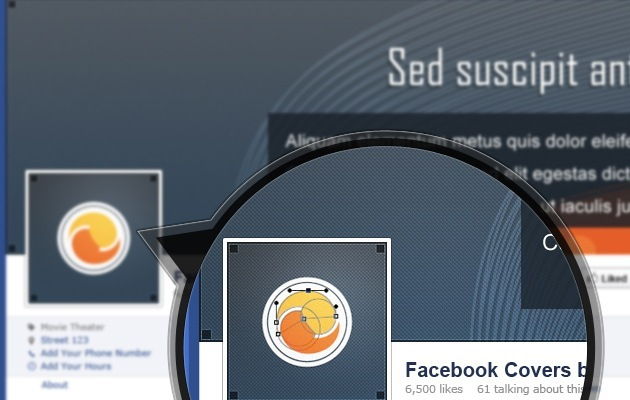 simple Facebook Cover PSD