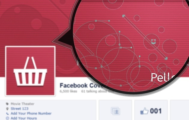 Facebook Cover page PSD