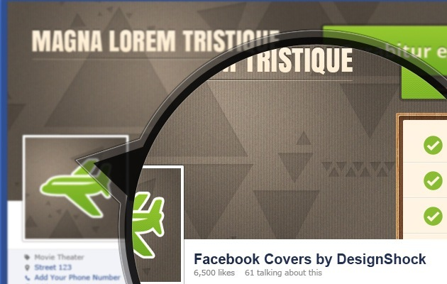 Facebook Cover creative PSD