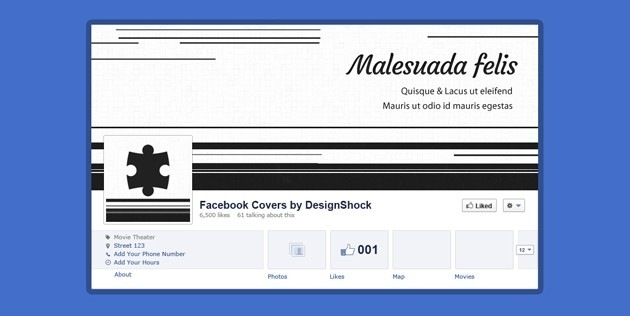 Facebook Cover PSD Pack