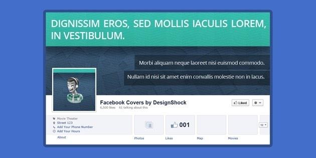 Facebook Cover Contact