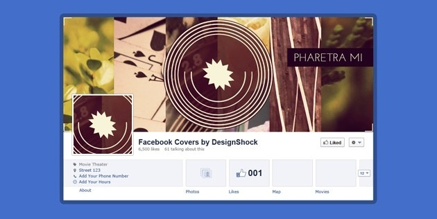 Minimalist Facebook Cover