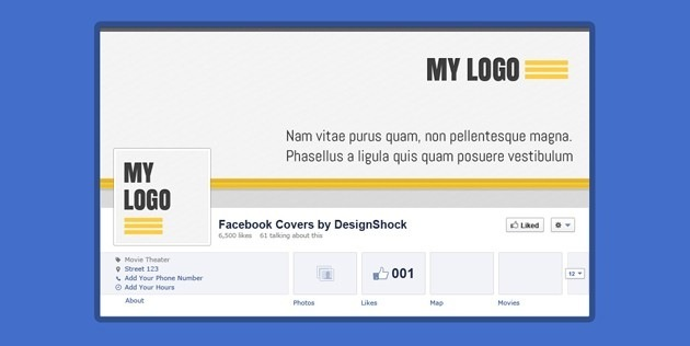 Minimalist Facebook Covers