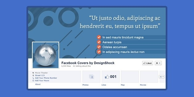 simple Facebook Cover