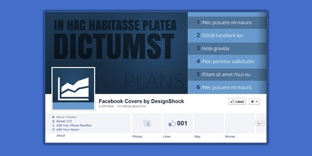 fb Cover PSD pack