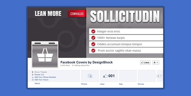 Nice Facebook Cover PSD