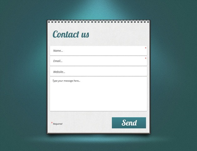 Nice Contact Us form