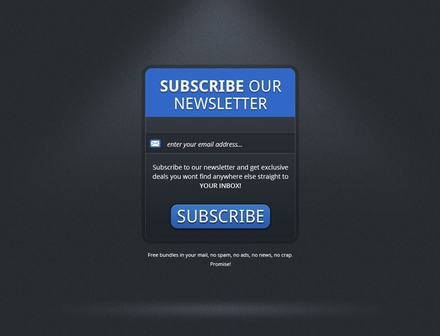 simple Subscribe form template