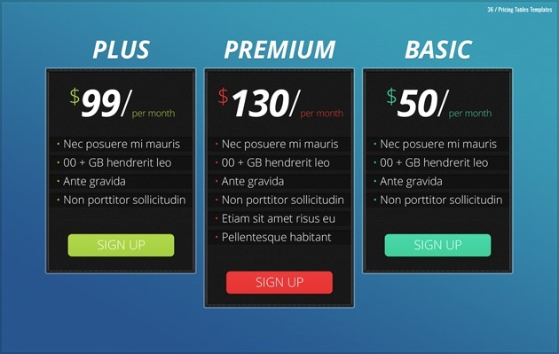 web pricing list Photoshop