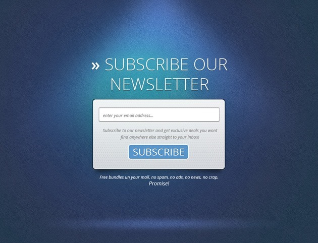 Cool Subscribe form