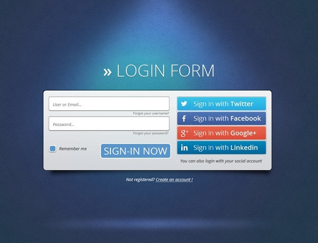 Cool Login form