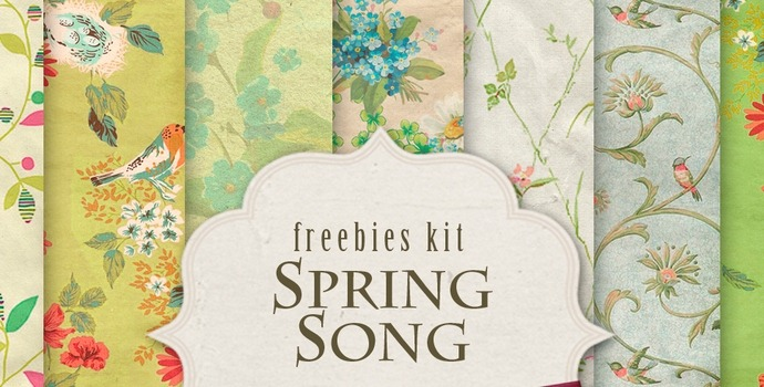 Backgrounds Kit – Spring