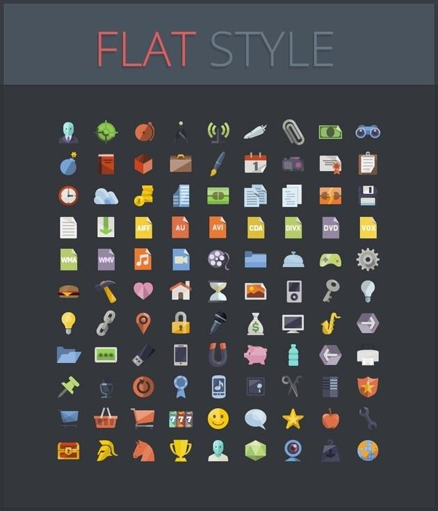 Icons Flat Style