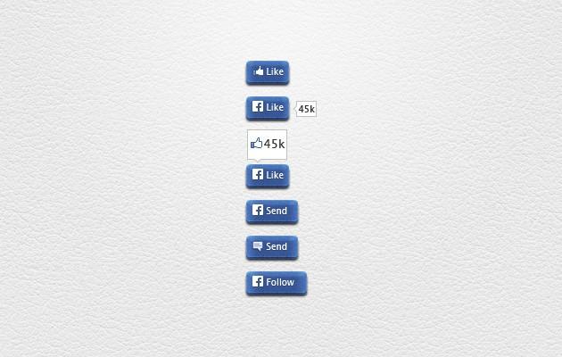 45_Facebook_Buttons