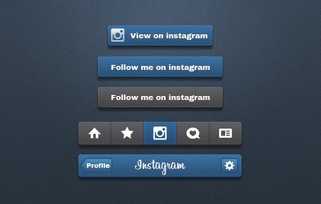 33_Instagram_Buttons