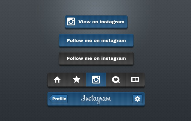 39_Instagram_Buttons