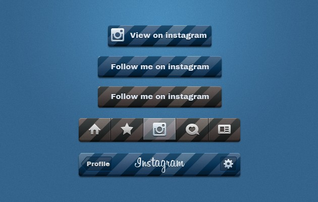 61_Instagram_Buttons