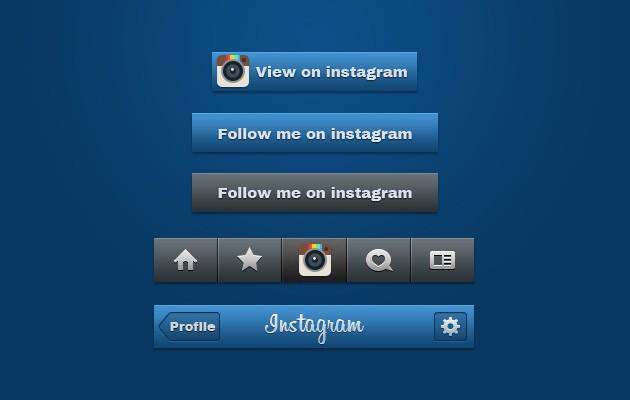 follow us on instagram template - follow us