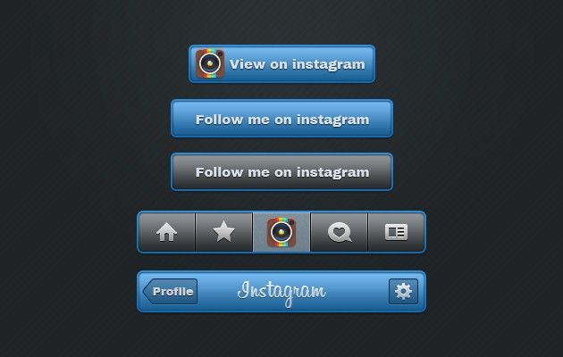 71_Instagram_Buttons