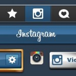 Instagram Button Pack: 500 sleek editable PSD buttons