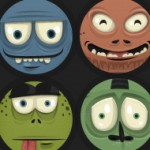 Vector monster pack (revamped) with source files, more than 1000 combinations!
