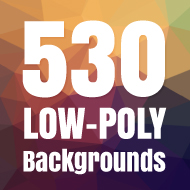 530 Free Geometric Low Poly Backgrounds Pack Design Shock ...