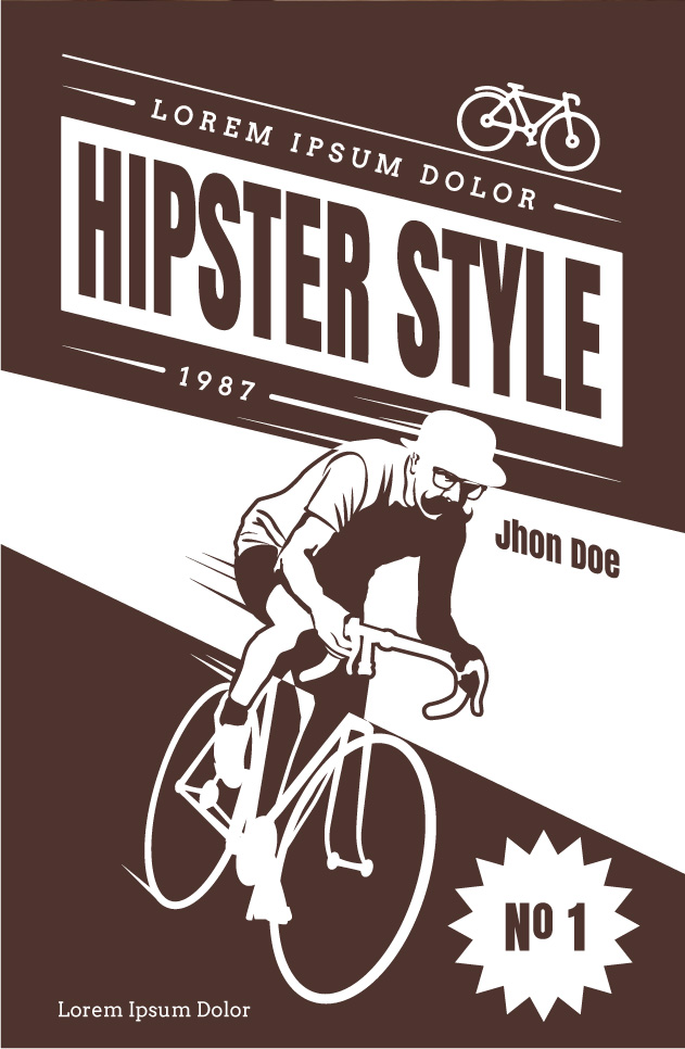 hipster_vector_poster_23