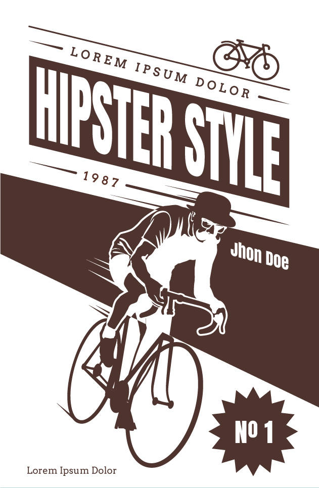 hipster_vector_poster_24