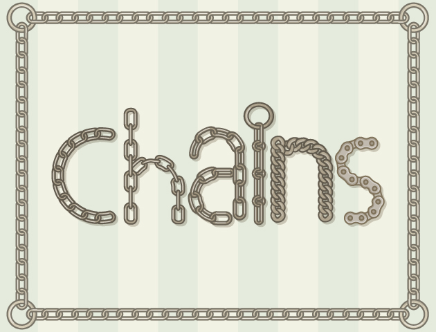 chains-vector-brushes