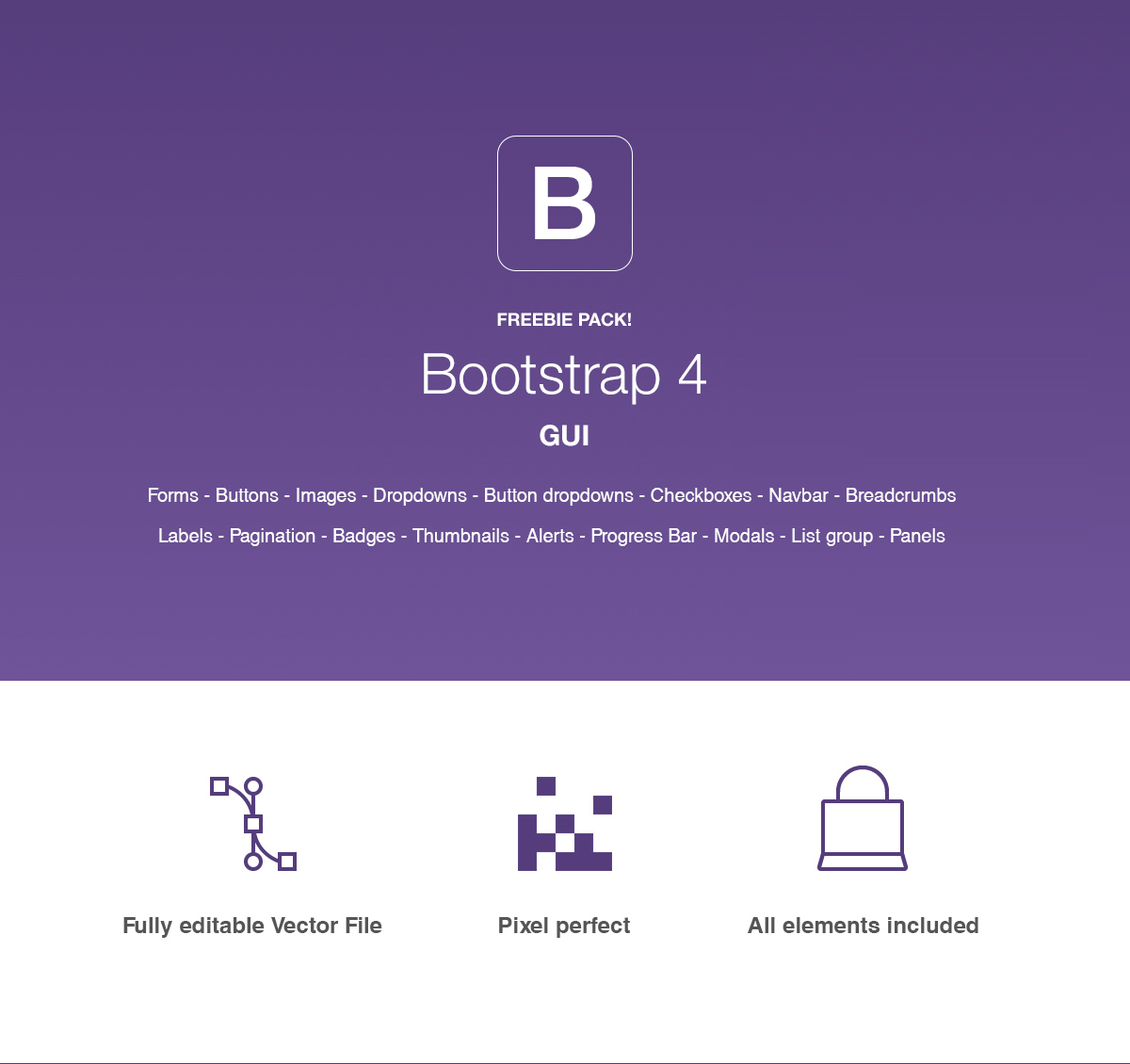 Bootstrap 4 GUI - Designshock - Shockfamily