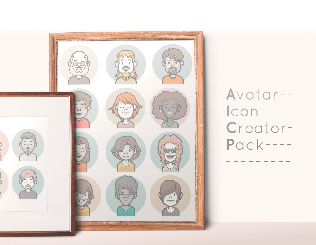 Avatar Icon Creator Pack