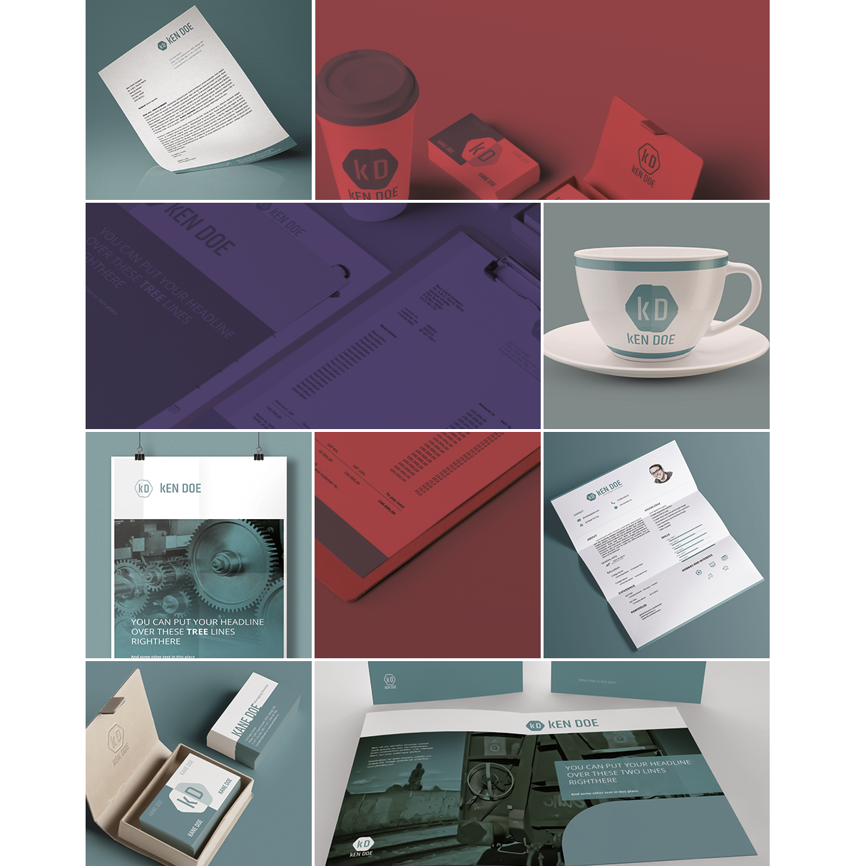Corporate Identity Templates Pack - Designshock - Shockfamily