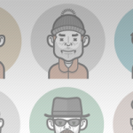 Avatar Icon Creator Pack: Build your Own Vector Character in Illustrator