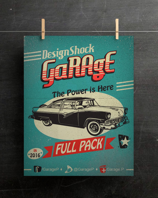 poster-hanging-mockup-vintage-vector