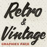 Retro & Vintage Vector Graphics Bundle: Create Any Retro Design with 1k+ Items in Both Illustrat...