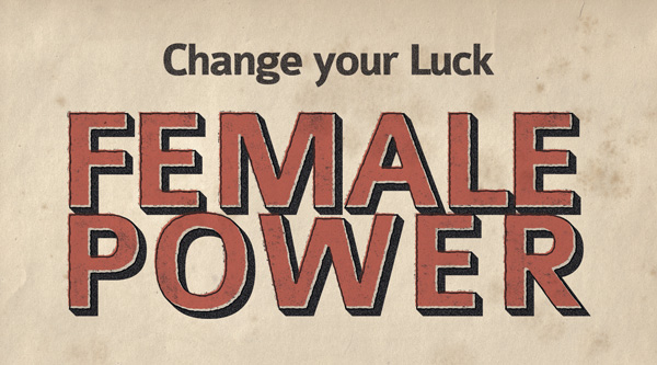 female-power-businnes-card-vintage-vector