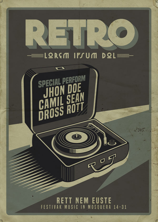 Retro-Music-Box-Party