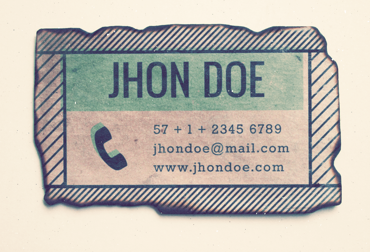 business-card-vintage-train