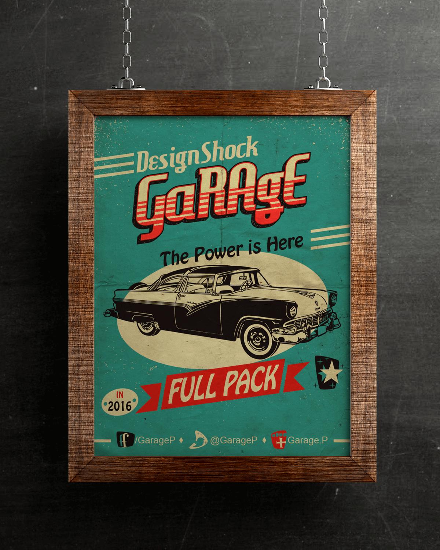 poster-vintage-car