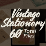 Vintage Stationery Set: 60 Fully Editable PSD & AI Branding & Editorial Templates